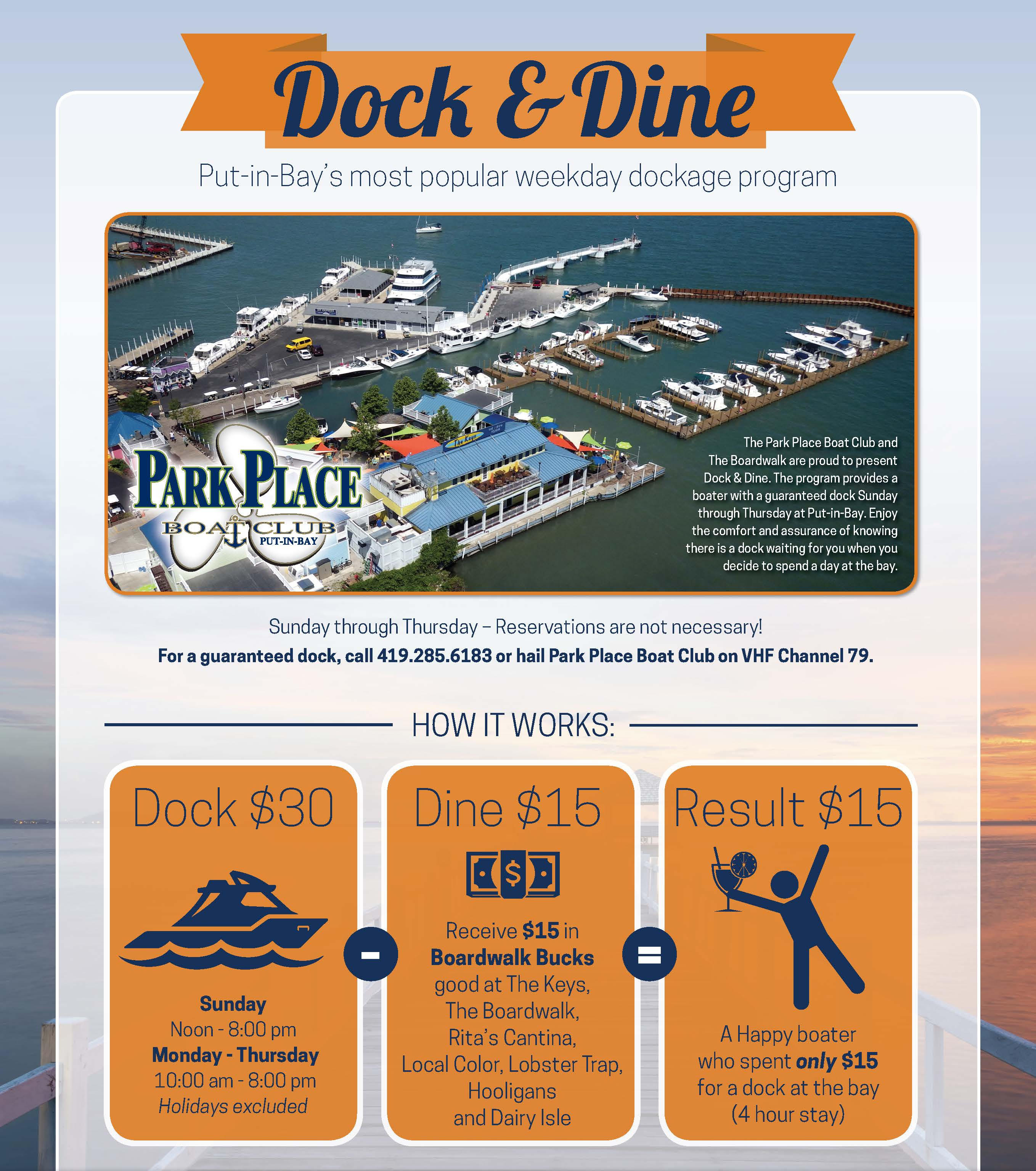 Dock and Dine