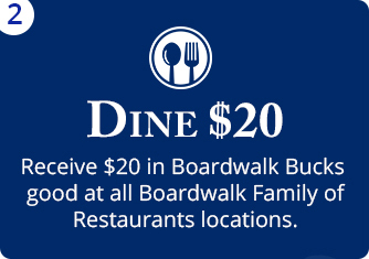 Get $20 for Dining